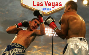 Boxing matches in Vegas